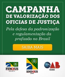 Campanha de valorização dos Oficiais de Justiça